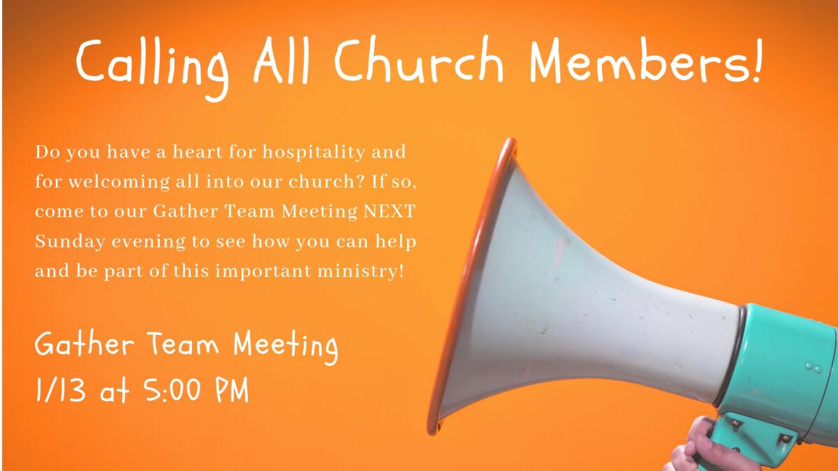 Gather Team Meeting