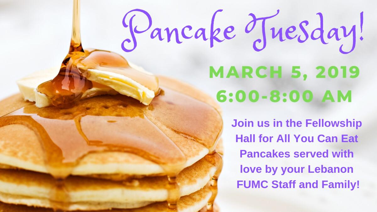 3rd Annual Pancake Tuesday Breakfast