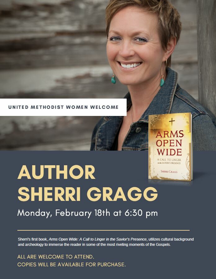 UMW Martha Group Meeting - featuring Sherri Gragg