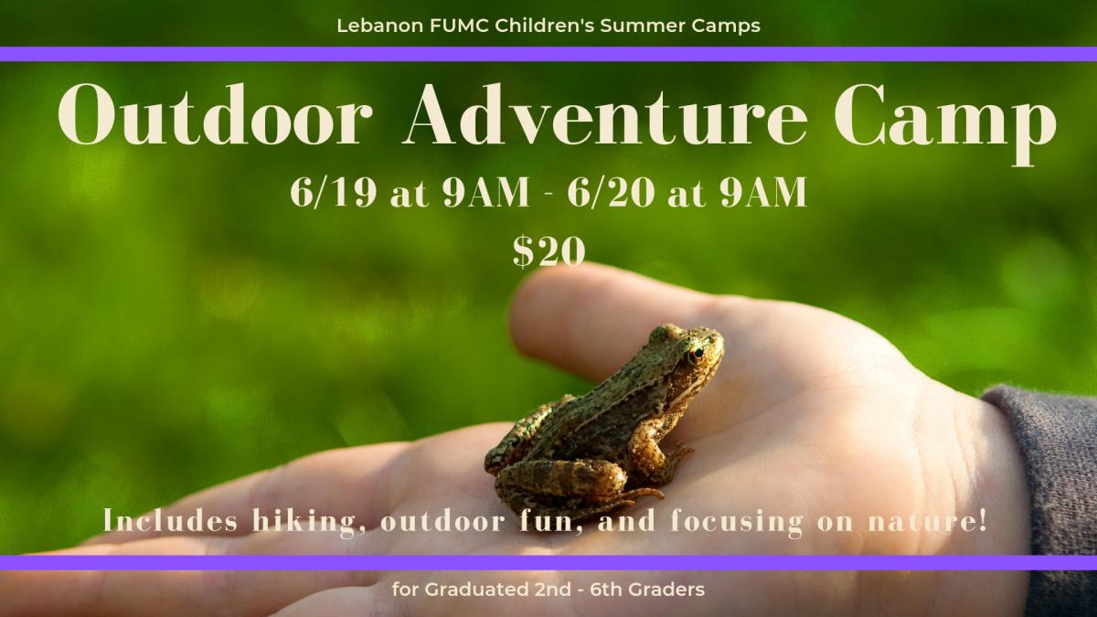 Children's Summer Camps: Outdoor Adventure Camp