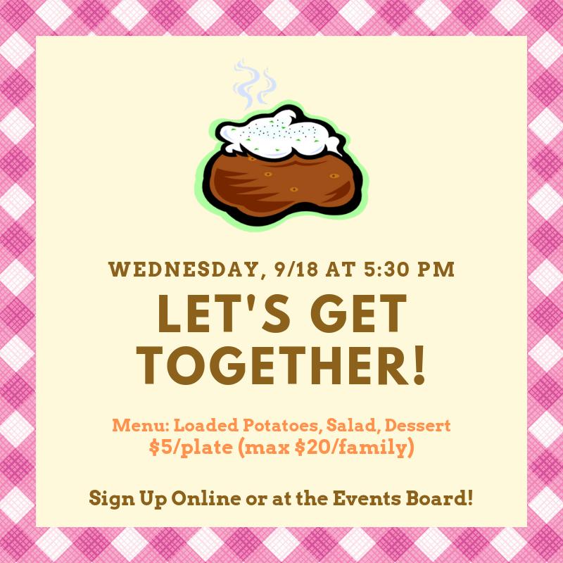Let's Get Together! Week 3