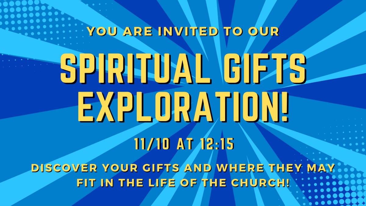 Spiritual Gifts Exploration