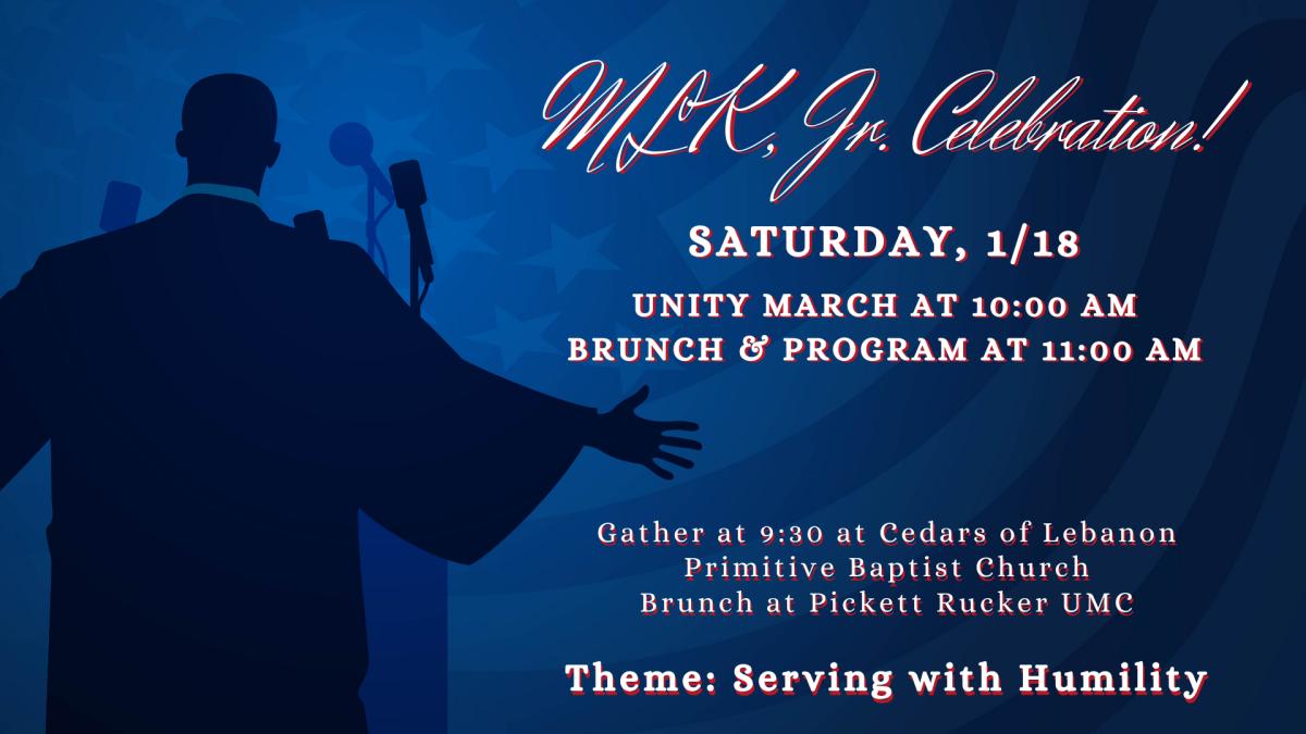 MLK Celebration and Unity Walk 2020