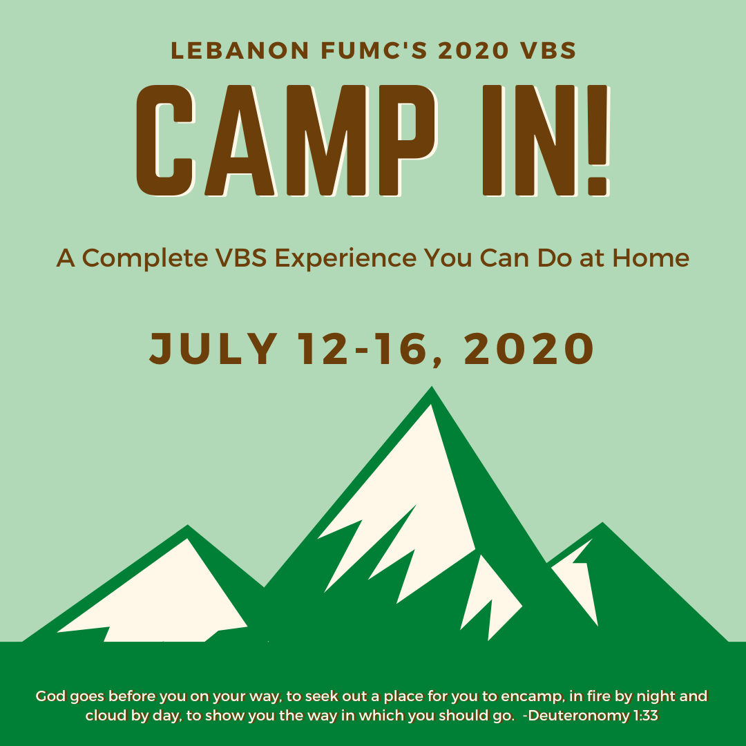 VBS 2020: Camp In!