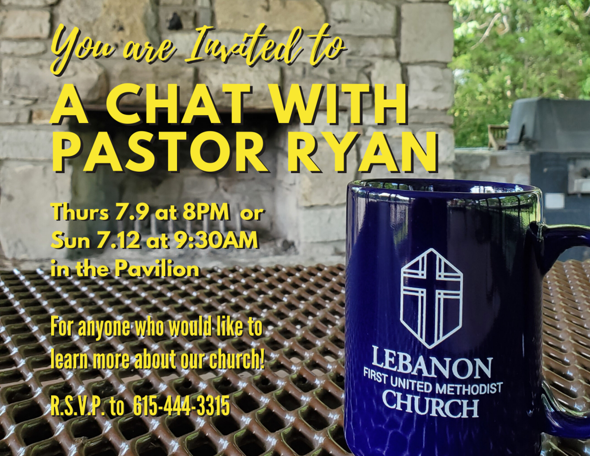 A Chat with Pastor Ryan