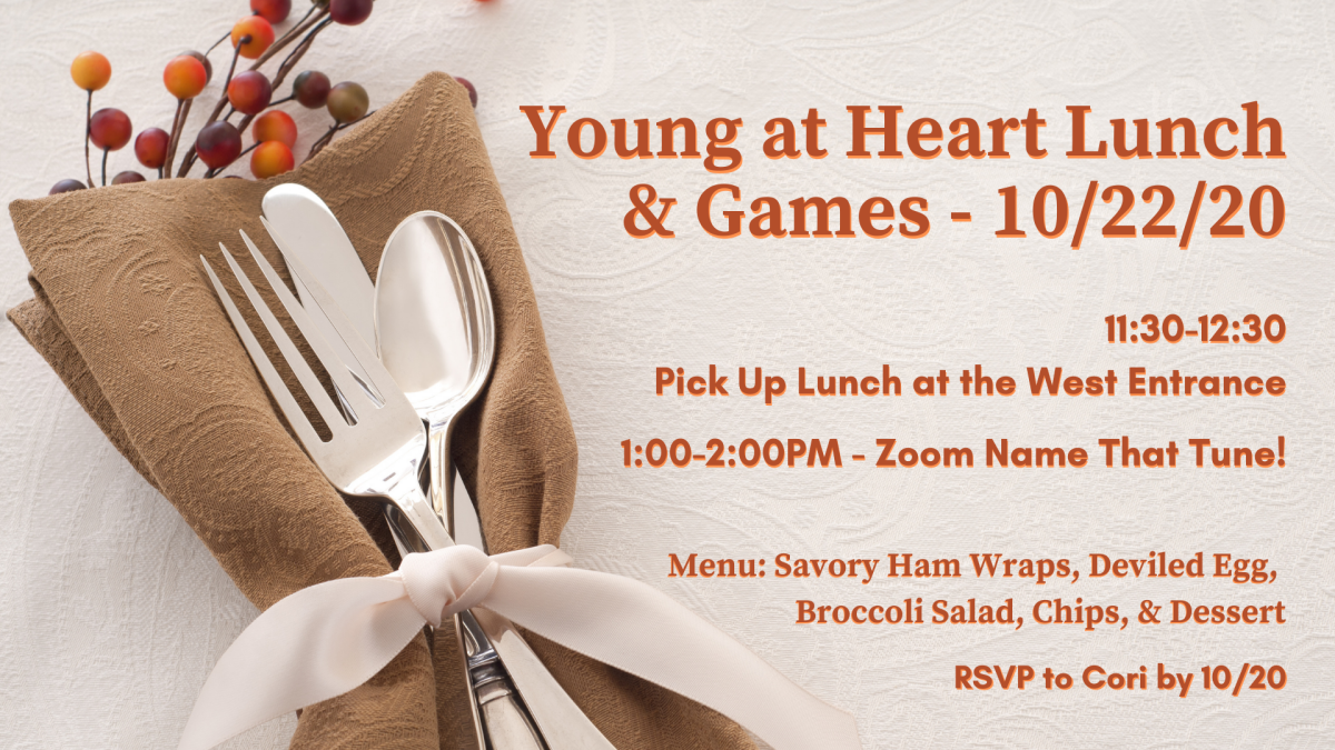 Young at Heart Lunch & Games