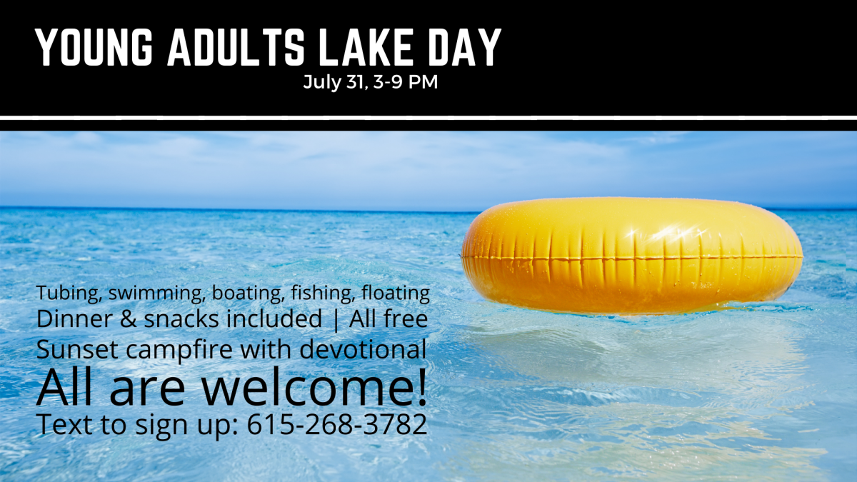 Young Adult Lake Day